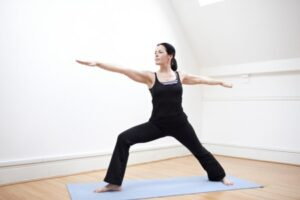 Yoga: re-discovering  physical and mental balance after an HIV  diagnosis