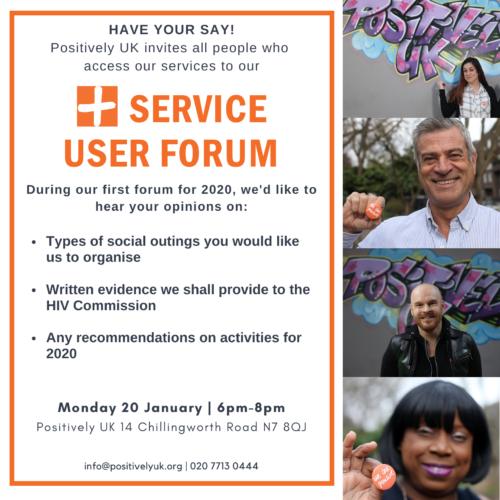 Positively UK Service User Forum