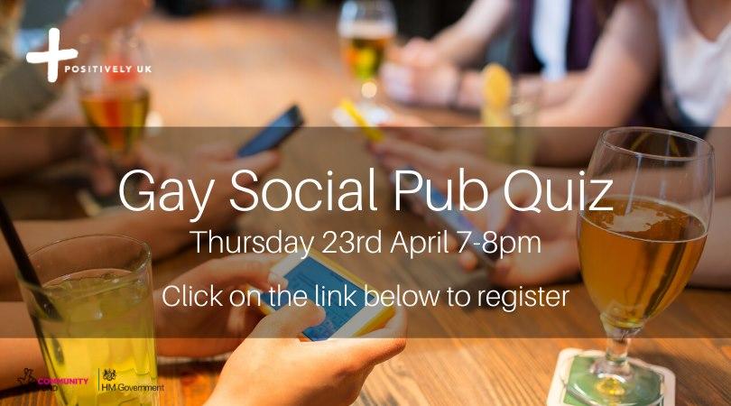 Gay Social Pub Quiz